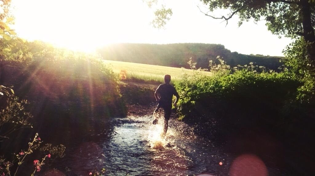 Bolt 2014 Water Crossing by @JonnyRose